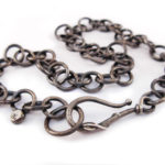 Handmade sterling silver chain